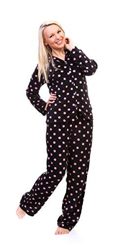Totally Pink Women's Warm and Cozy Plush Pajama Set ...