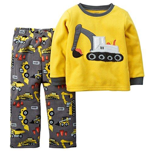 1ff0f229f Carter s Toddler-Boys  2 Pc Micro Fleece Pajama Set (3T