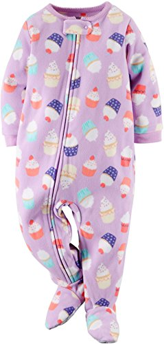 355127f45c55 Carter s Baby Girls Footed Fleece PJ s (3T