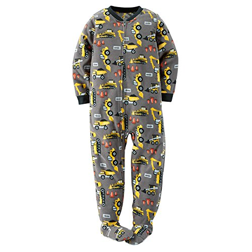 c7cbd637ee Carter s Boys Footed 1 Piece Fleece Sleeper Pajamas (7
