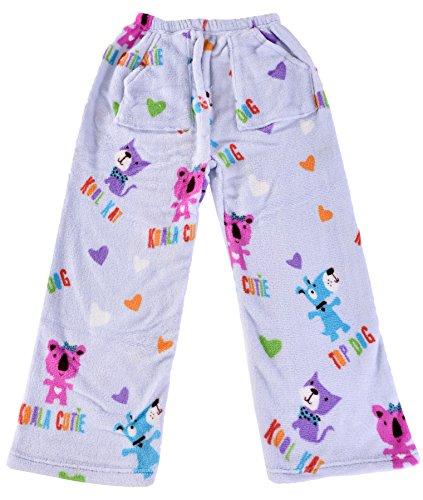 e3174123b10 iscream Girl s Warm and Cozy Plush Fleece Pajama Pants Kool Friend Medium