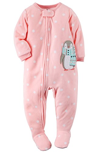 Carter s Baby-girls  1 Pc Fleece Footed Blanket Sleeper Pajamas (12 Months f79b81829