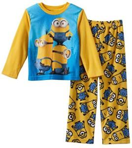a0055815a96 Minions Boys Fleece Pajama Set
