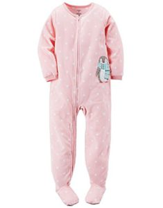 Carter s Big-girls  1 Pc Fleece Footed Blanket Sleeper Pajamas (10 bcbe51ed6