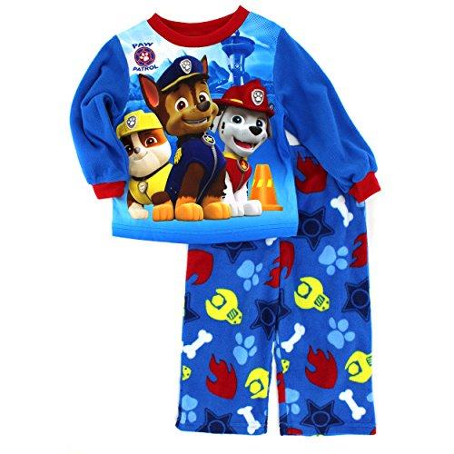 eb5f5a0e3 Paw Patrol Boys Fleece Pajamas (4T