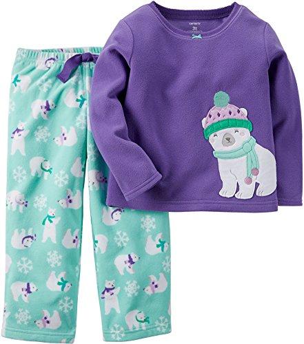 ba7d0ecf2 Carter s Baby Girls  2-Piece Fleece Pajama Set (18 Months