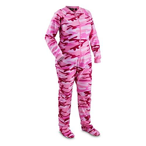 d4fd2430b49 Guide Gear Women s Footed Onesie Pajamas