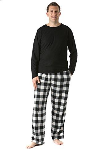 de76559feab 45910-1B-L  FollowMe Polar Fleece Pajama Pants Set for Men ...