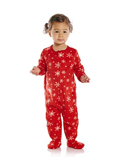 79ffb25c3cc2 Leveret Fleece Baby Boys Girls Footed Pajamas Sleeper Kids   Toddler ...