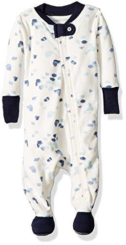 e829eb1e0a28 Burt s Bees Baby – Baby Boys  Sleeper Pajamas