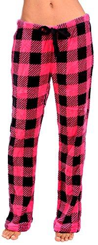 cc9b2ffd4e7 Body Candy Women s PJS Cozy Fleece Plush Pajama Pants