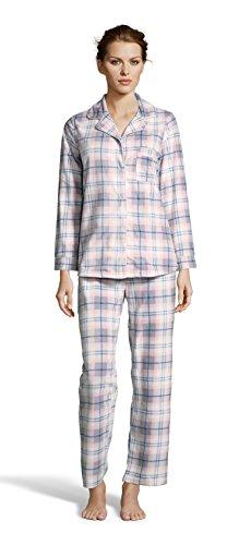 f66499fe8b Kathy Ireland Womens Fleece Micropolar Button Down Pajama Shirt and Pants  Set