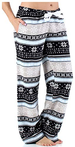 9fe2367da548 PajamaMania Women s Sleepwear Fleece Pajamas PJ Pants