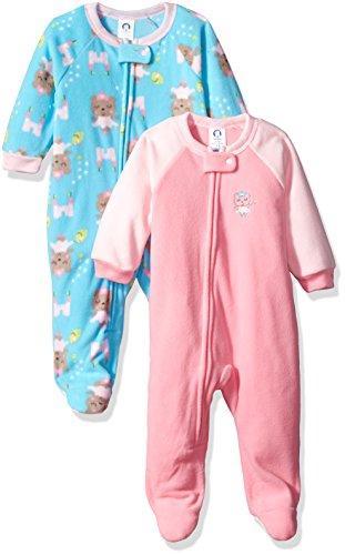 badde2d75b Gerber Toddler Girls 2 Pack Blanket Sleeper